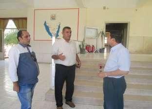 بالصور | رئيس الإدارة المركزية لإقليم القناة يتفقد المواقع الثقافية بجنوب سيناء