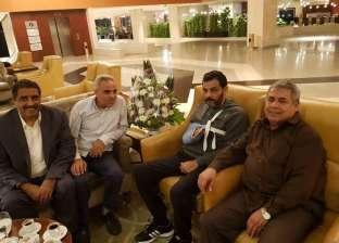 """وفد من الجيش الليبي يزور """"الزهاوي"""" في القاهرة"""