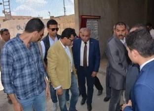 بالصور| وزير الشباب يتفقد أعمال إنشاء نزل الشباب في كفر الشيخ
