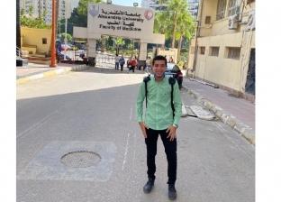 بائع الفريسكا أمام كلية الطب في أول أسبوع دراسة.. مراحش بالعربية (صور)