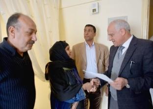 صور| تسكين 40 أسرة من «عشش السودان» في وحدات «مُشطبة»