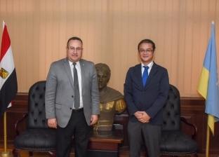 """محافظ الإسكندرية يلتقي ممثل هيئة التعاون الدولي اليابانية بمصر """"جايكا"""""""