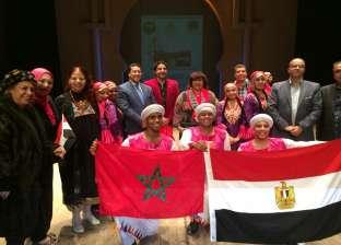 """""""عبد الدايم"""" تشهد ختام فعاليات الأيام الثقافية المصرية بوجدة المغربية"""