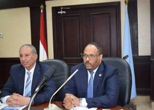 السفير الإماراتي يستعرض الخطط المستقبلية للتنمية في البحر الأحمر