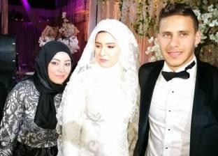 بالصور| عمرو دياب يحيي حفل زفاف رمضان صبحي وحبيبة إكرامي