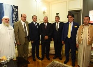 محافظ مطروح وأعضاء البرلمان يلتقون مدير الأمن الجديد