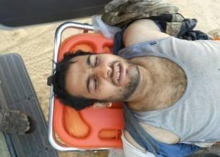 """صور جديدة لـ""""الحايس"""" بعد نقله إلى أحد المستشفيات العسكرية"""