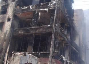 حرق محل خمور بسبب مشادة على 7 جنيهات في المنوفية