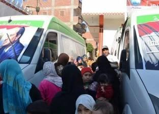 """""""الصحة"""": القوافل الطبية بالقاهرة أجرت الكشف على 4978 مواطنا"""