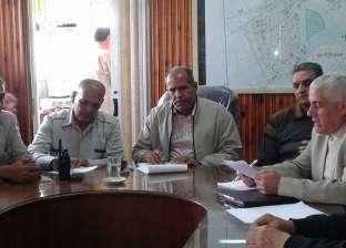 بالصور| رئيس مدينة فوة يوجه بحل مشاكل المواطنين والاستعداد للانتخابات