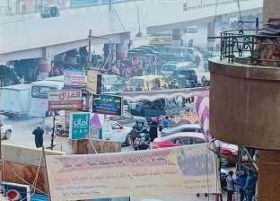 استنفار أمني بمحيط قسم شرطة ثان المحلة بسبب زحام أهالي السجناء لذويهم