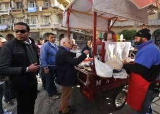 """""""الغضبان"""" يحذر الباعة الجائلين من التواجد في محيط مستشفى بورسعيد العام"""