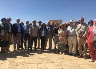 """تفاصيل جولة وزير الآثار و30 سفيرا ومستشارا ثقافيا لـ""""الوادي الجديد"""""""