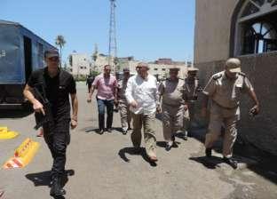 مدير أمن البحيرة يتفقد إدارة قوات الأمن في دمنهور