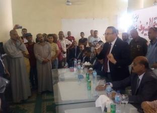 لقاء جماهيري بأبيس الأولى لمعرفة مشاكلهم وحلها بحضور محافظ الإسكندرية