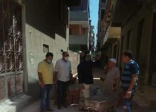 """مبادرة شعبية لشباب قرية """"كفركلا الباب"""" بالغربية لرصف شوارع """"انترلوك"""""""