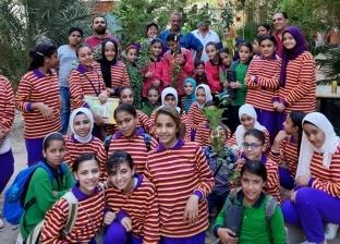تشجير مدارس العمرانية.. مبادرة شبابية لتعليم الطلاب الحفاظ على البيئة