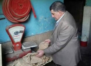 تحرير 34 محضر تمويني لمخابز بلدية مخالفة بدير مواس بالمنيا