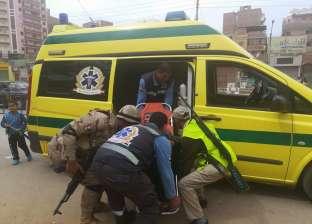 إصابة أمين شرطة بإغماء خلال تأمينه للانتخابات بإحدى لجان بني سويف