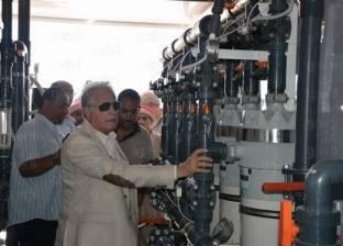 إنشاء محطة تحلية مياه طور سيناء و5 آبار جديدة بقيمة 126 مليون جنيه