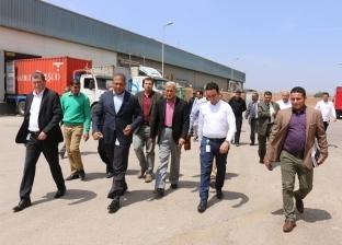 بالصور| محافظ المنوفية يرأس اجتماع مجلس المنطقة الحرة بشبين الكوم