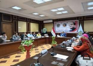 رئيس جامعة دمنهور: تطبيق التعلم الإلكتروني العام الدراسي المقبل