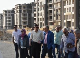 """نائب رئيس """"المجتمعات العمرانية"""" يتفقد مشروعات مدينة القاهرة الجديدة"""