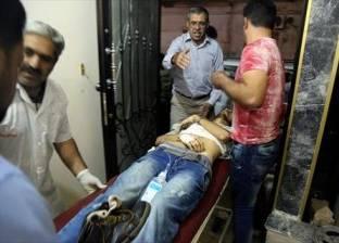 سقوط نجار مسلح من الطابق الثاني بالدقهلية وإصابته بكسر في الجمجمة