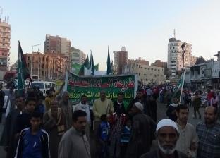 آلاف المواطنين يحتفلون بالمولد النبوي في المنيا