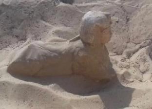 """آخرها تمثال مصغر لـ""""أبو الهول"""".. أبرز الاكتشافات الأثرية في ديسمبر 2019"""