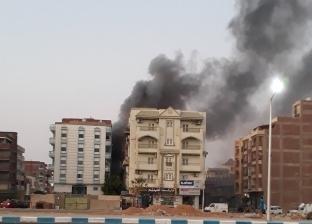 السيطرة على حريق في عقار بمدينة السلام 2 بالسويس