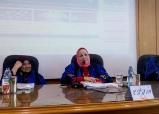 """""""آداب الإسكندرية"""" تناقش آلية استخدام الإنترنت لتطوير المعلومات الصحية"""