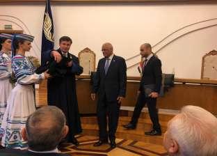 """جامعة """"بيلاروس"""" تمنح """"عبدالعال"""" لقب أستاذ فخري"""