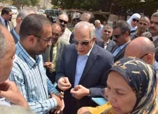 محافظ الجيزة يتفقد المدارس استعدادا للعام الدراسي الجديد