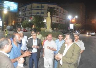 محافظ المنيا يوجه بإزالة الإشغالات والتعديات في الشوارع الرئيسية
