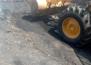 صور.. حملة مكبرة لتنفيذ قرارات إزالة مكامير الفحم بدمياط