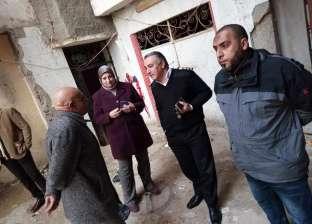 """""""جمرك الإسكندرية"""" و""""الحماية المدنية"""" يُسيطران على حريق في حارة الأوزعي"""