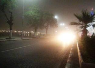 فتح الطرق الصحراوية المغلقة في أسوان بعد تحسن الطقس