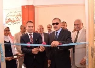 محافظ أسيوط يشهد احتفالية مدرسة الخياط الثانوية باحتفالات أكتوبر