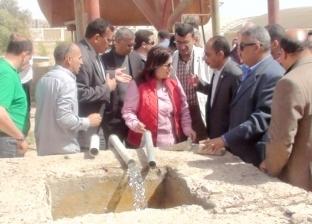 """نائب وزير الزراعة تنتقد الإهمال بمزرعة """"بئر أبو كلام"""" الإرشادية بالطور"""