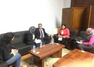 نائب وزير الزراعة تبحث مع سفير أوروجواي سبل تعزيز التعاون بين البلدين