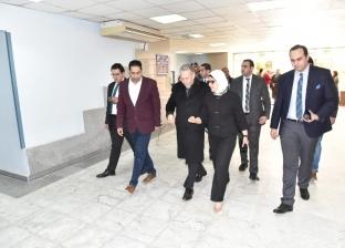 وزيرة الصحة تصل إلى «معهد ناصر» للاطمئنان على مصابي حادث محطة مصر