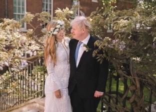 «فستان ثمنه 60 دولار».. مشاهد مثيرة من حفل زواج بوريس جونسون على كاري