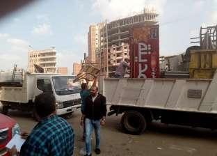 """محافظ القاهرة: حملات للتخلص نهائيا من الإشغالات والقضاء على """"الجائلين"""""""