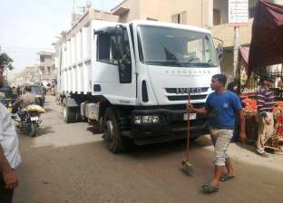 محافظ سوهاج: استمرار أعمال النظافة والتجميل بقرى المراغة