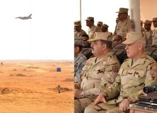 بالفيديو| وزير الدفاع يشهد مناورة «فاتح- 26» بالذخيرة الحية