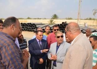 محافظ الإسماعيلية: استمرار تنفيذ خطة رفع تراكمات وبؤر القمامة