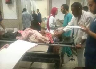 شاهد عيان يوضح أسباب وقوع حادث تصادم قطاري الإسكندرية