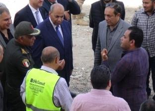 رئيس جامعة المنيا يتابع العمل بمبنى مستشفى ثلاثي الأجنحة