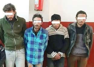 القبض على تشكيل عصابي تخصص في سرقة المواطنين بالإكراه بالإسكندرية